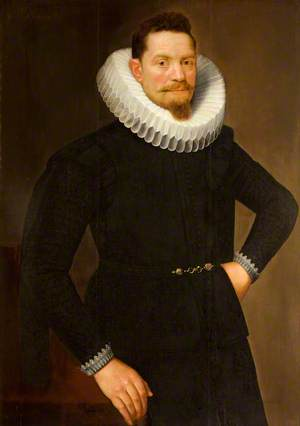 Portrait of an Unknown Flemish Man