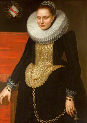 Portrait of an Unknown Flemish Woman