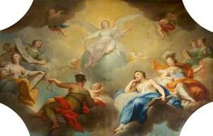 Immortality Presiding over the Arts