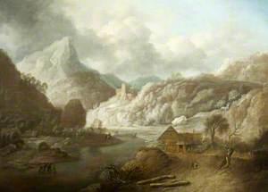 An Imaginary Rhenish Landscape