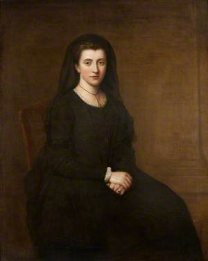 Diana Wynne (1748–1805), Mrs Philip Yorke I, as a Widow