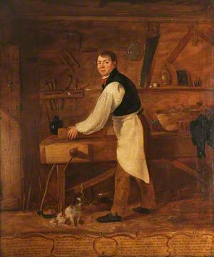 Thomas Rogers (1781–1875), Carpenter, Aged 48
