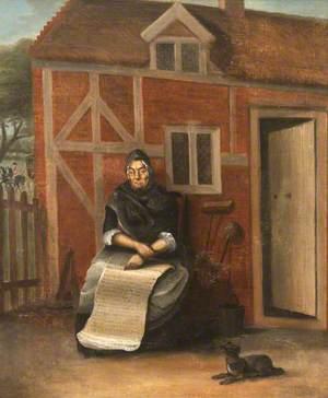 Mrs Jane Ebrell (b.1706), Former Housemaid and 'Spider-Brusher', Aged 87