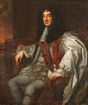 Charles II (1630–1685), in Garter Robes