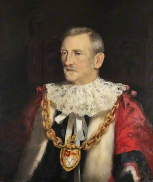 Philip Yorke II (1849–1922), as Mayor of Wrexham