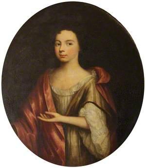 Jane Kinaston, Mrs Holland, as a Girl