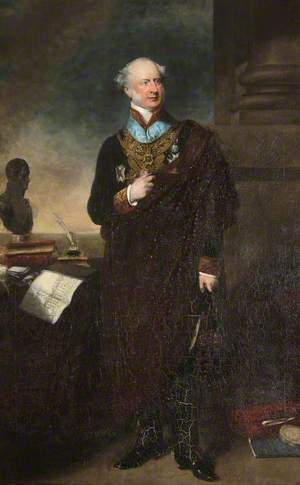 General the Honourable Sir Edward Cust (1794–1878), 1st Bt, MP, DCL, KCH