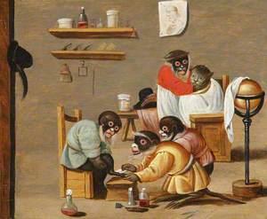 Monkey Barbers