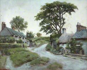 Cottages on a Roadside