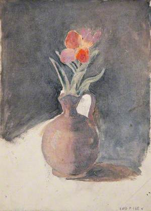Study of a Flower in a Jug