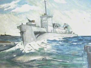 LCI 87 Flagship, Flotilla Number 10, HQ Greenway, D Day Omaha/Utah, River Dart