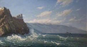 The Black Sea off Crimea