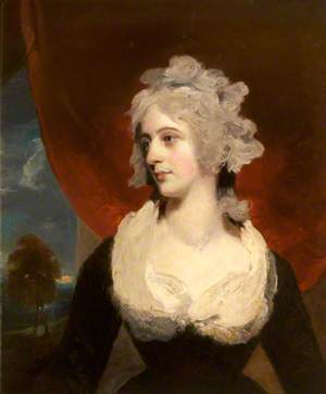 Charlotte Dee (1756–1813), Mrs Charles Edmund Nugent, as Mrs Johnstone