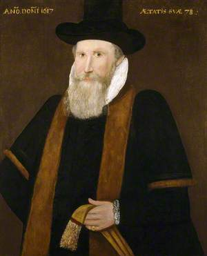 Portrait of an Unknown Man, Aged 78