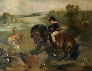 'The First Leap': Lord Alexander Russell (1821–1907), on His Pony 'Emerald'