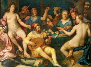 Allegory of the Arts and Sciences with a Portrait of Jan Govertsen van der Aer