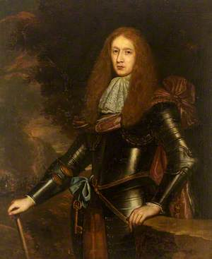 Portrait of an Unknown Young Man in Armour with a Key of Office