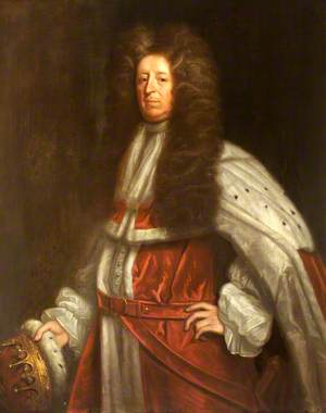 Richard Lumley (c.1650–1721), 2nd Viscount Lumley and 1st Earl Scarbrough, in the Robes of an Earl