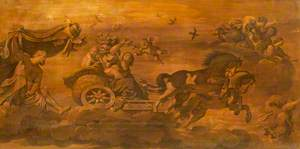 Aurora Quitting Tithonus in Her Chariot