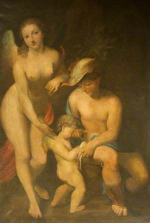 Venus with Mercury and Cupid ('The School of Love')