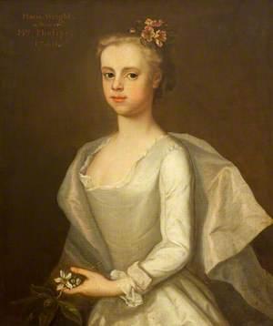Called 'Maria Wright (1730–1793), Mrs Edward Phelips V, as a Girl'