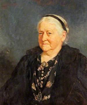 Portrait of an Unknown Elderly Lady