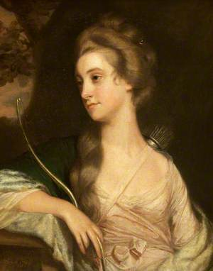 Elizabeth Phelips (1750–1841), as Diana the Huntress