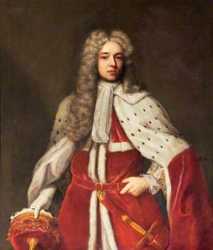Henry Somerset (1684–1714), 2nd Duke of Beaufort, KG, in Ducal Robes