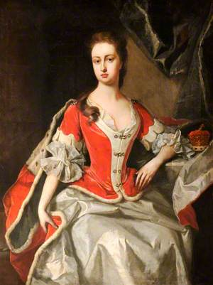 Mary Preston (d.1724), Marchioness/Duchess of Powis, in Peeress's Robes