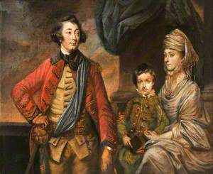 Lieutenant-General Henry Herbert (1734–1794), 10th Earl of Pembroke, Lady Elizabeth Spencer (d.1831), Countess of Pembroke and Their Only Son George Augustus Herbert (1759–1827), Later 11th Earl of Pembroke