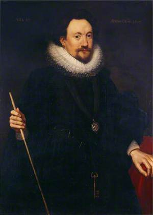 William Herbert (1580–1630), 3rd Earl of Pembroke, KG, PC, Aged 37