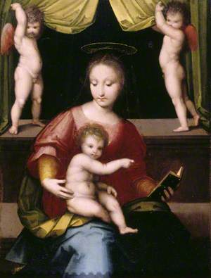 The Madonna and Child with Putti