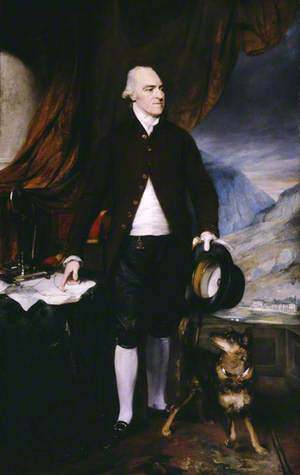 Richard Pennant (1737?–1808), 1st Baron Penrhyn of Penrhyn, and His Dog 'Crab'