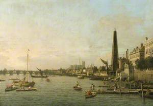 The Thames at Westminster, London