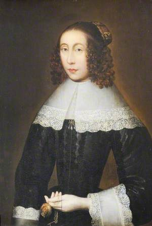 Portrait of an Unknown Lady Holding a Watch