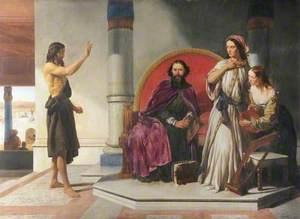 John the Baptist Reproving Herod