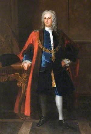 Sir Samuel Pennant (1709–1750), as Lord Mayor of London