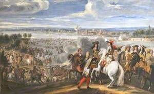Louis XIV Crossing the Rhine, 12 June 1672