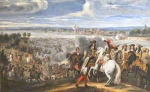 Louis XIV Crossing the Rhine, 12 June 1672