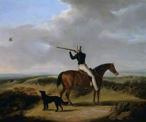 Sir Henry William Paget, 1st Marquess of Anglesey Shooting Blackcock on Cannock Chase, with His Dog 'Nep'