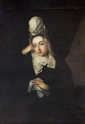 Portrait of an Unknown Lady in Mourning