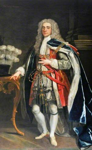 Philip Dormer Stanhope (1694–1773), 4th Earl of Chesterfield, KG, in Garter Robes