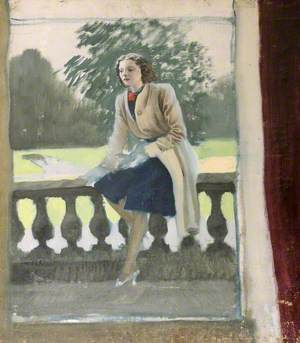 Lady Caroline Paget (1913–1976), Later Lady Duff