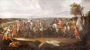 The Duke of Marlborough at the Battle of Blenheim: The Surrender of Maréchal Tallard