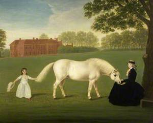Mary Curzon (1760–1804), Lady Stawell and Her Daughter, Mary Legge (1780–1864)