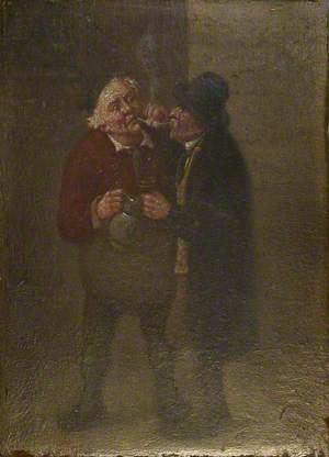 Two Men in a Tavern