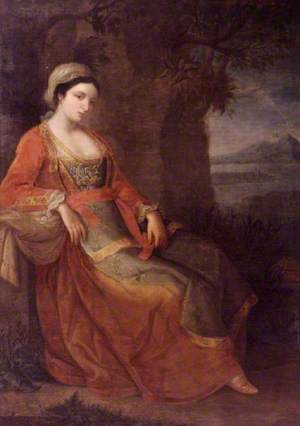 A Woman in Neapolitan Dress