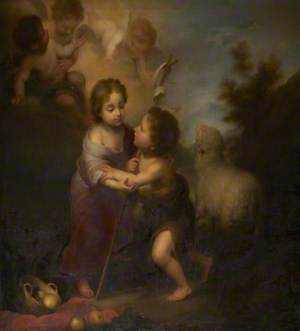 The Infants Christ and Saint John the Baptist