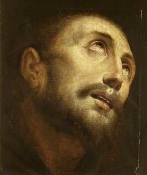 Head of Saint Francis in Ecstasy