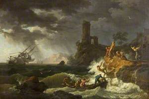 Midday: Storm and Shipwreck